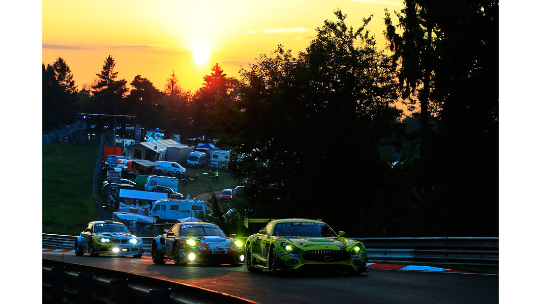 Mercedes-AMG GT3 - Startnummer #48 - 24h Rennen Nürburgring - 22. Juni 2019