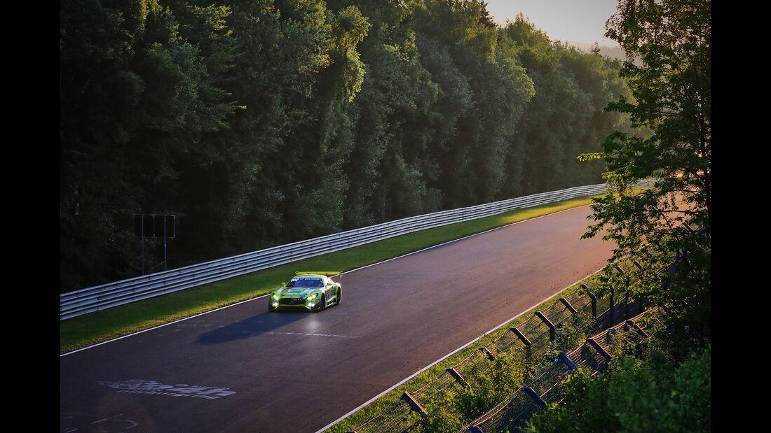Mercedes AMG GT3 # Startnummer #48 - 24h Rennen Nürburgring - Nürburgring-Nordschleife - 23. Juni 2019