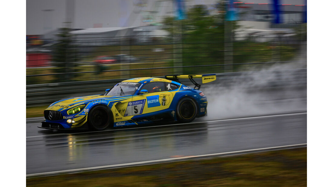 Mercedes-AMG GT3 - Startnummer #5 - 24h-Rennen Nürburgring 2018 - Nordschleife - 13.5.2018