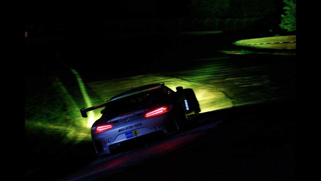 Mercedes AMG GT3 - Startnummer #50 - 24h-Rennen Nürburgring 2017 - Nordschleife