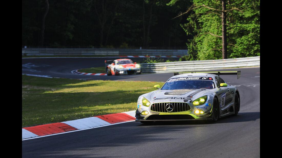 Mercedes AMG GT3 - Startnummer #50 - 24h-Rennen Nürburgring 2017 - Nordschleife - Sonntag - 28.5.2017
