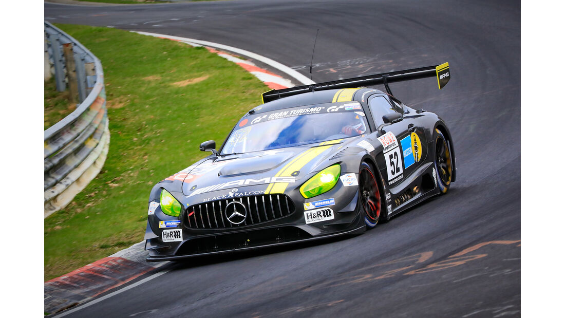 Mercedes-AMG GT3 - Startnummer #52 - Mercedes-AMG Team Black Falcon - SPX - VLN 2019 - Langstreckenmeisterschaft - Nürburgring - Nordschleife