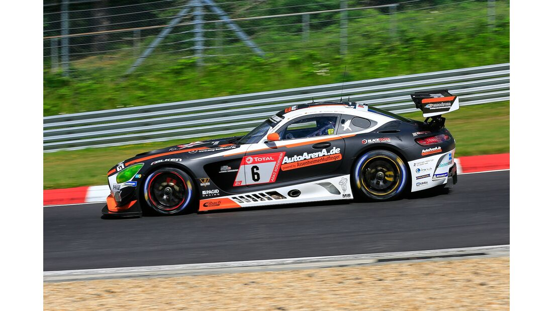 Mercedes AMG GT3 - Startnummer #6 - 24h Rennen Nürburgring - 21. Juni 2019