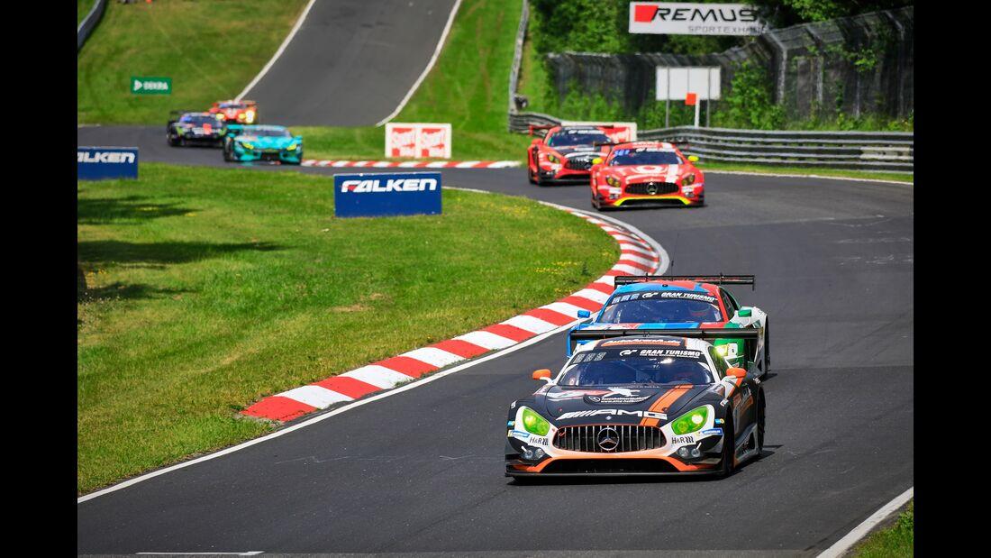 Mercedes AMG GT3 - Startnummer #6 - 24h Rennen Nürburgring - 22. Juni 2019