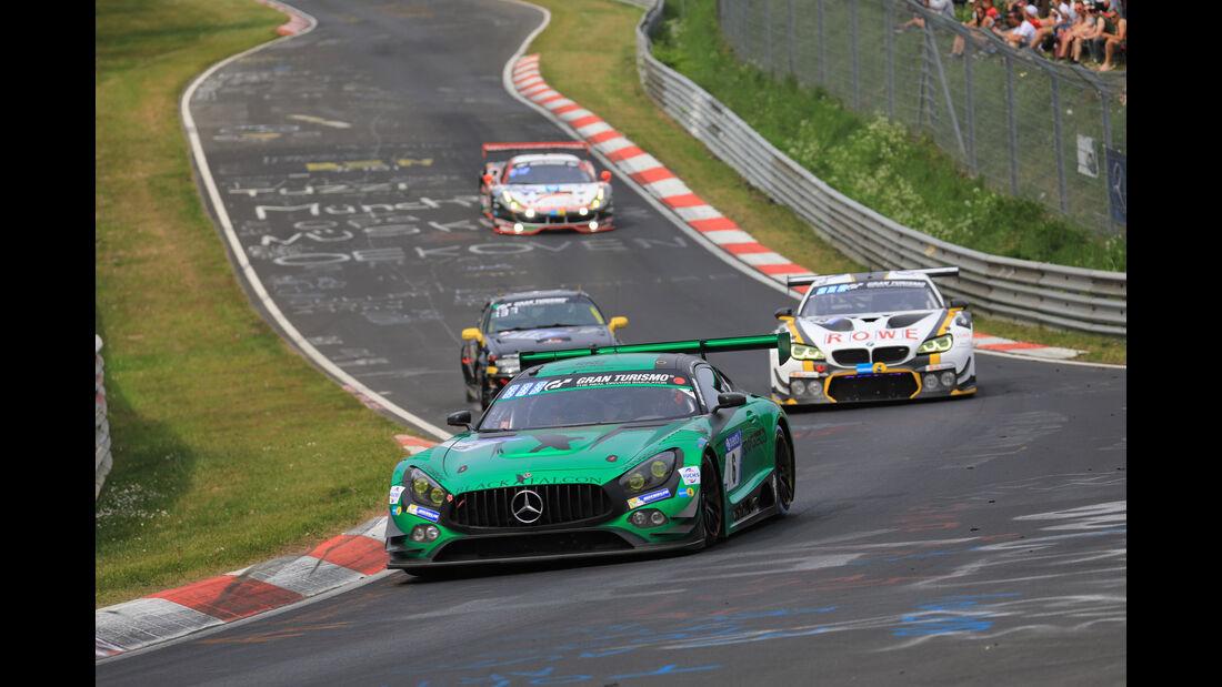 Mercedes-AMG GT3 - Startnummer #6 - 24h-Rennen Nürburgring - Nordschleife - Samstag - 12.5.2018
