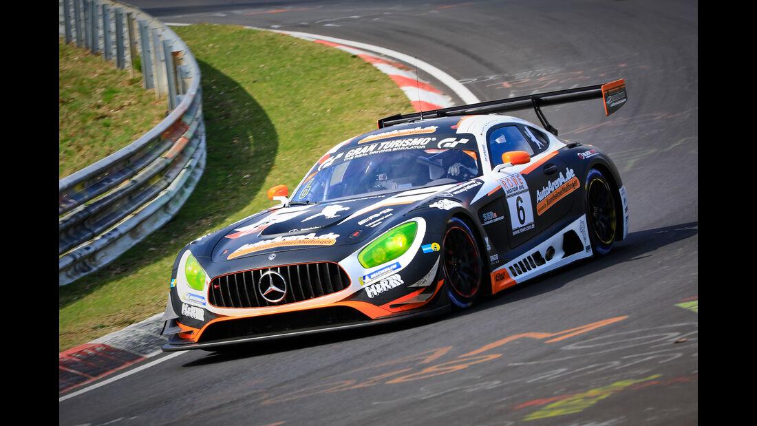 Mercedes-AMG GT3 - Startnummer #6 - Black Falcon Team AutoArena Motorsport - SP9 Pro - VLN 2019 - Langstreckenmeisterschaft - Nürburgring - Nordschleife