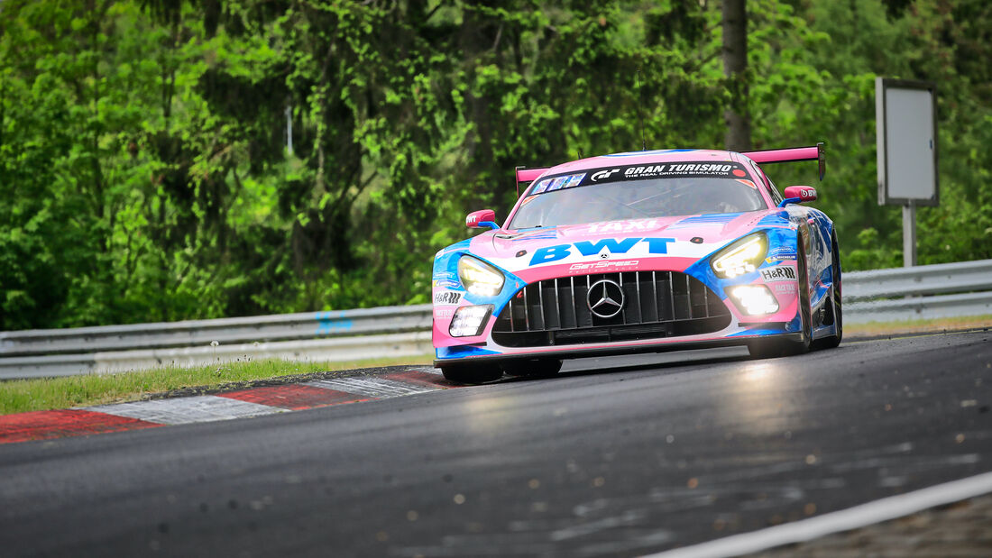 Mercedes-AMG GT3  -  Startnummer 8 - 24h Rennen Nürburgring - Nürburgring-Nordschleife - 3. Juni 2021