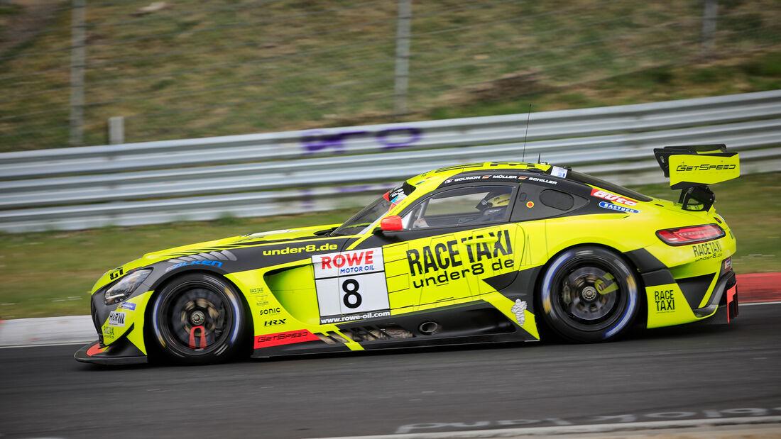 Mercedes-AMG GT3 - Startnummer #8 - GetSpeed - SP9 Pro - NLS 2021 - Langstreckenmeisterschaft - Nürburgring - Nordschleife