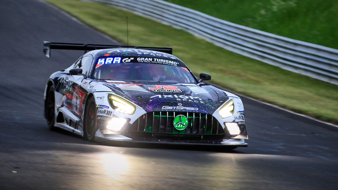 Mercedes-AMG GT3 - Startnummer 9 - 24h Rennen Nürburgring - Nürburgring-Nordschleife - 3. Juni 2021