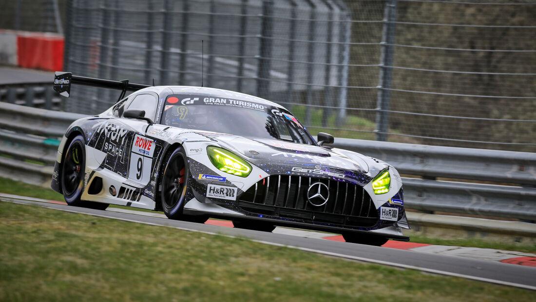 Mercedes-AMG GT3 - Startnummer #9 - GetSpeed - SP9 Am - NLS 2021 - Langstreckenmeisterschaft - Nürburgring - Nordschleife