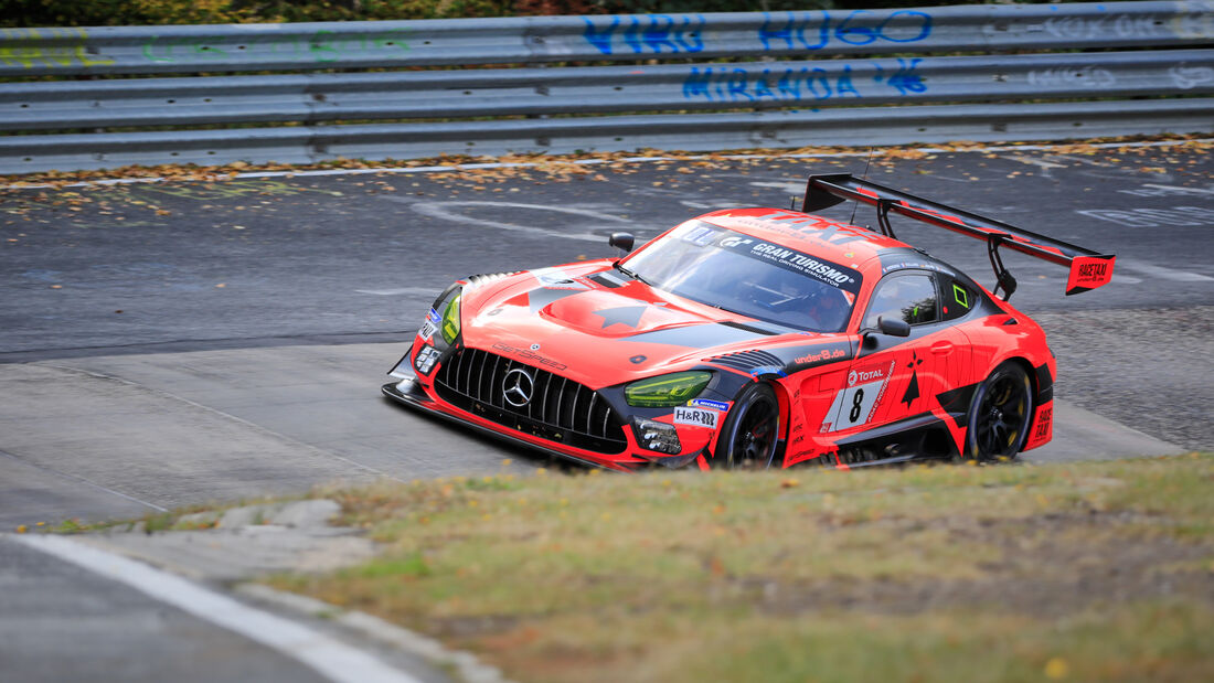 Mercedes-AMG GT3 - Team GetSpeed - Startnummer #8 - 24h-Rennen - Nürburgring - Nordschleife - Donnerstag - 24. September 2020