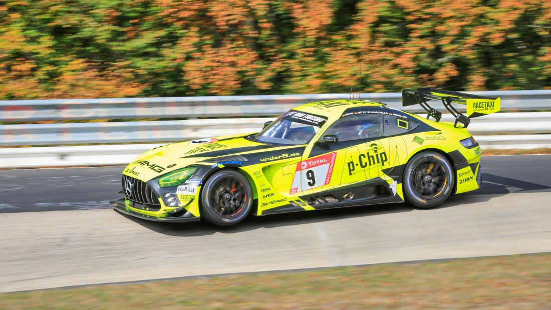 Mercedes-AMG GT3 - Team GetSpeed - Startnummer #9 - Klasse: SP9 - 24h-Rennen - Nürburgring - Nordschleife - 24. bis 27. September 2020