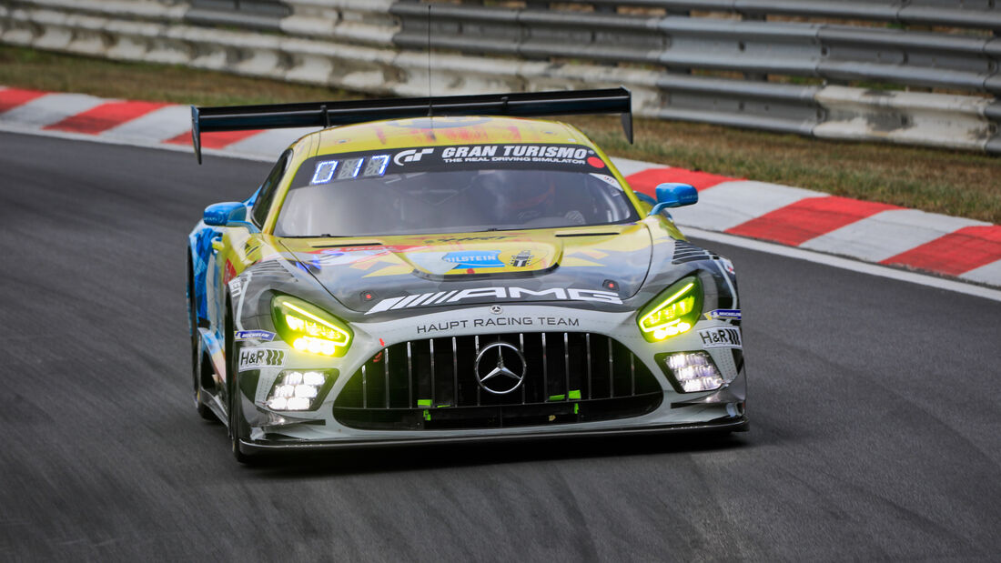 Mercedes-AMG GT3 - Team HRT - Startnummer #2 - 24h-Rennen - Nürburgring - Nordschleife - Donnerstag - 24. September 2020