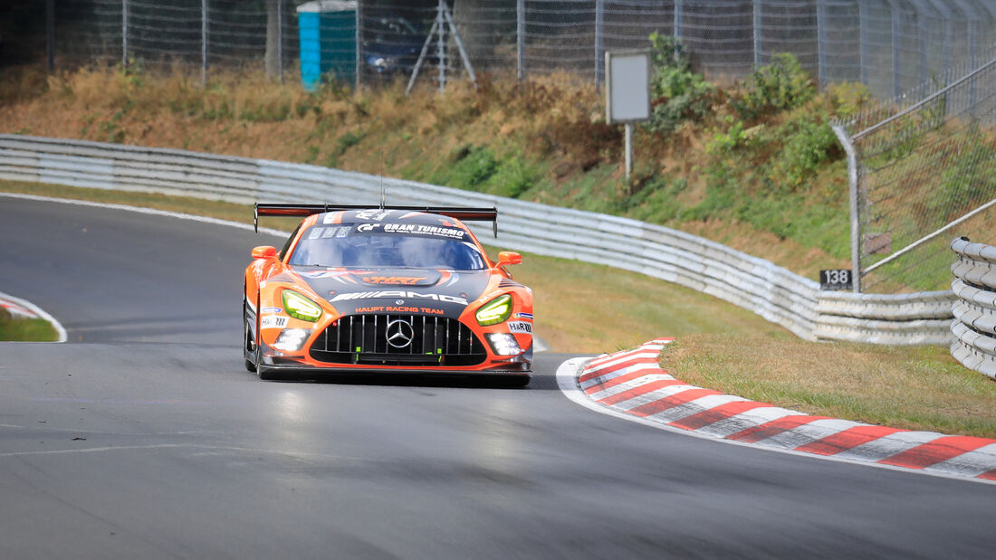 Mercedes-AMG GT3 - Team HRT - Startnummer #4 - 24h-Rennen - Nürburgring - Nordschleife - Donnerstag - 24. September 2020