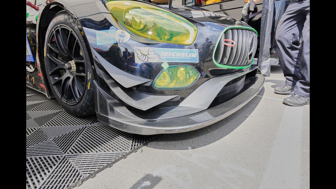 Mercedes-AMG GT3 - Technik - 24h-Rennen Nürburgring 2016 - Nordschleife
