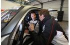 Mercedes-AMG GT3, Tracktest, Einweisung