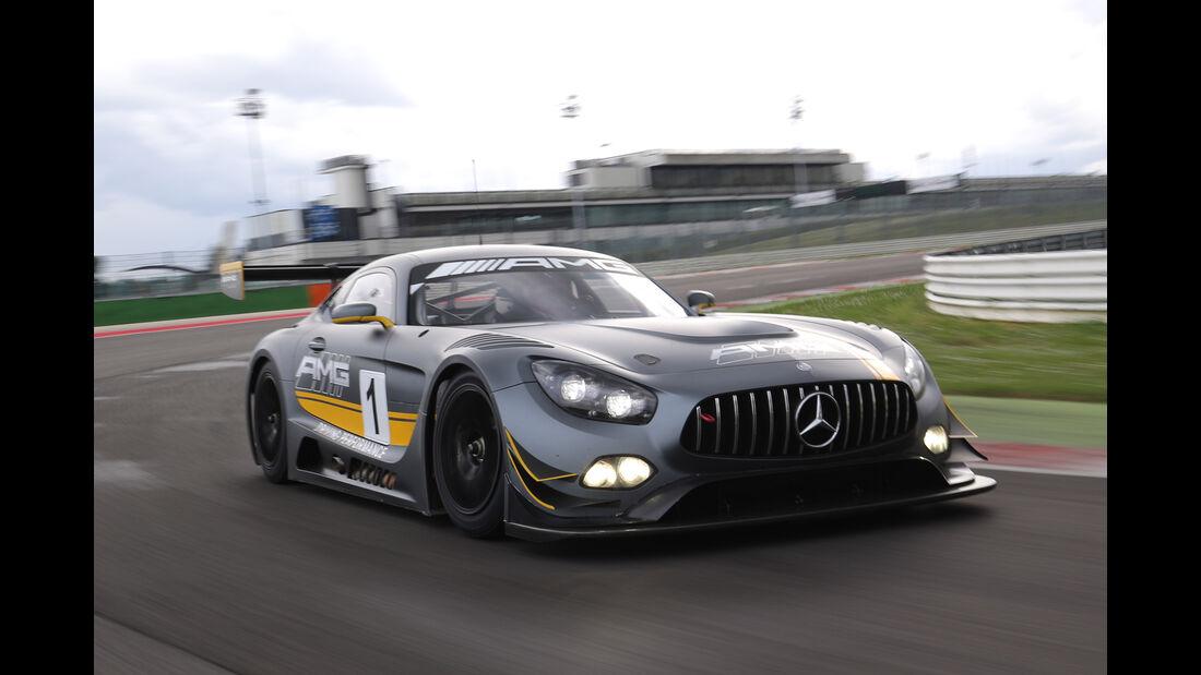 Mercedes-AMG GT3, Tracktest, Frontansicht