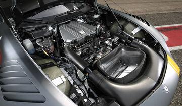 Mercedes-AMG GT3, Tracktest, Motor