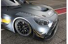 Mercedes-AMG GT3, Tracktest, Motorhaube