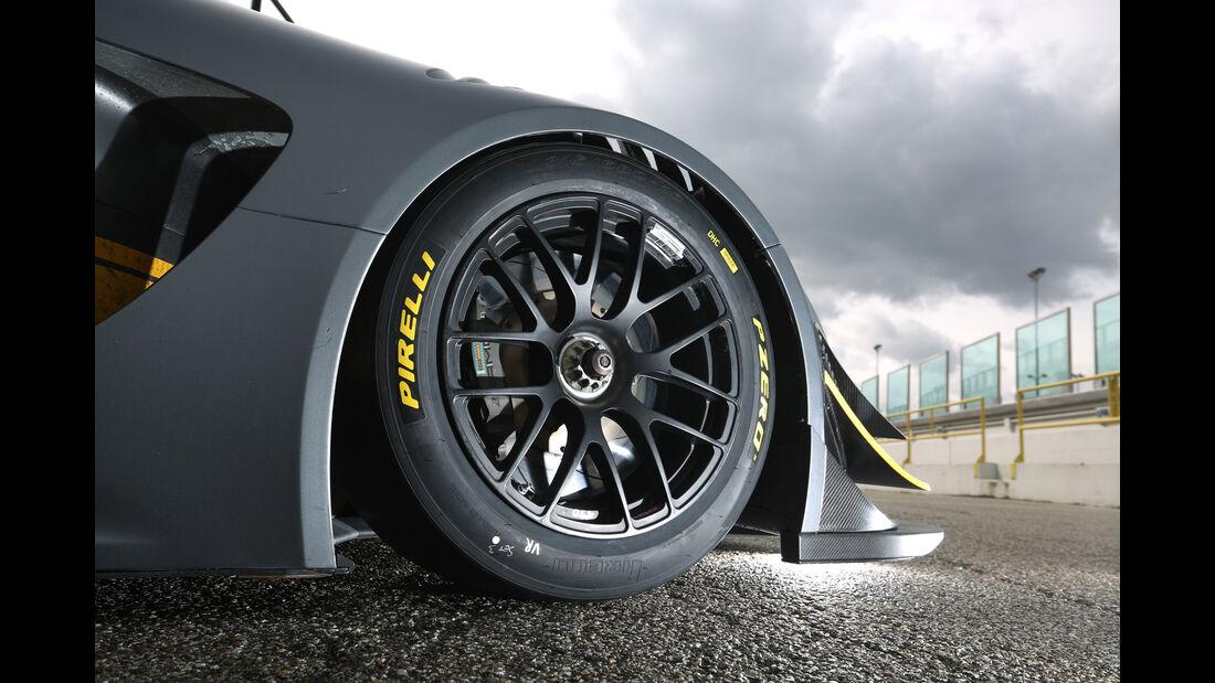 Mercedes-AMG GT3, Tracktest, Rad, Felge