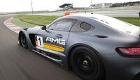 Mercedes-AMG GT3, Tracktest, Seitenführung
