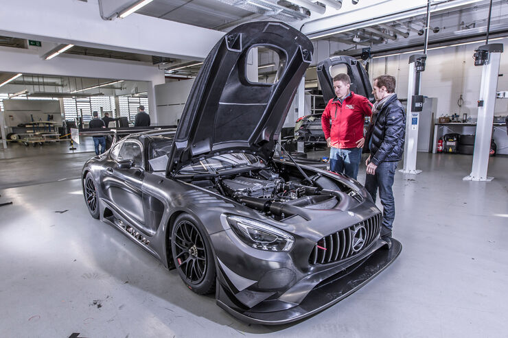 mercedes amg gt3 wir bauen mit auto motor und sport. Black Bedroom Furniture Sets. Home Design Ideas