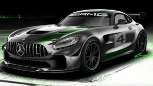 Mercedes-AMG GT4 - Rennwagen