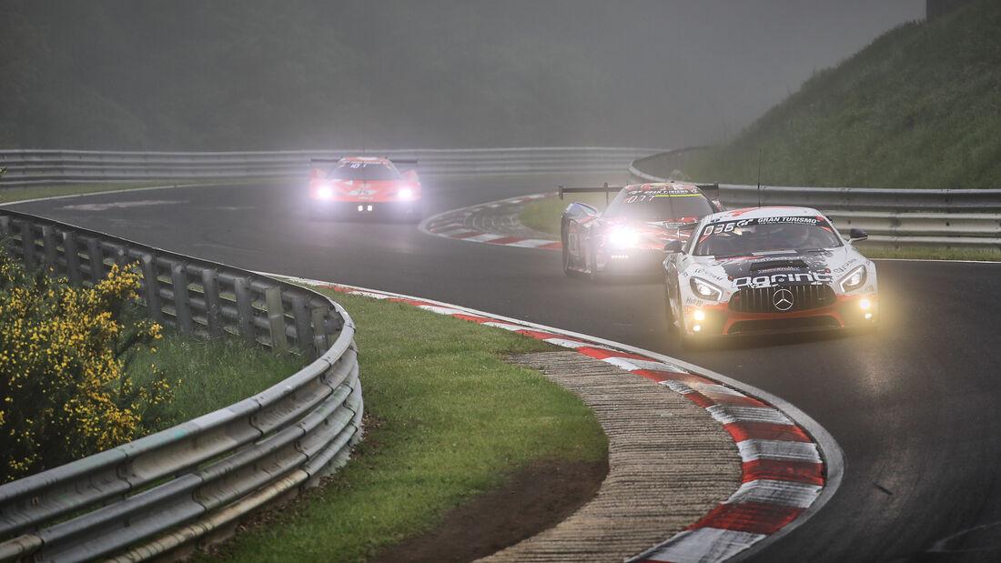 Mercedes-AMG GT4 - Schnitzelalm Racing - Startnummer #37 - 24h-Rennen Nürburgring - Nürburgring-Nordschleife - 6. Juni 2021