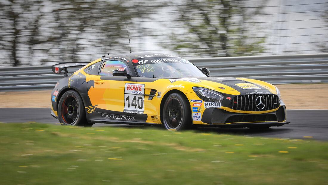 Mercedes-AMG GT4 - Startnummer #140 - Black Falcon Team TEXTAR - SP4T+SP8T - NLS 2021 - Langstreckenmeisterschaft - Nürburgring - Nordschleife