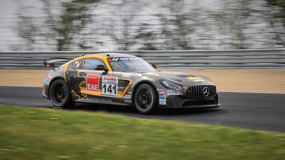 Mercedes-AMG GT4 - Startnummer #141 - Black Falcon Team TEXTAR - SP4T+SP8T - NLS 2021 - Langstreckenmeisterschaft - Nürburgring - Nordschleife