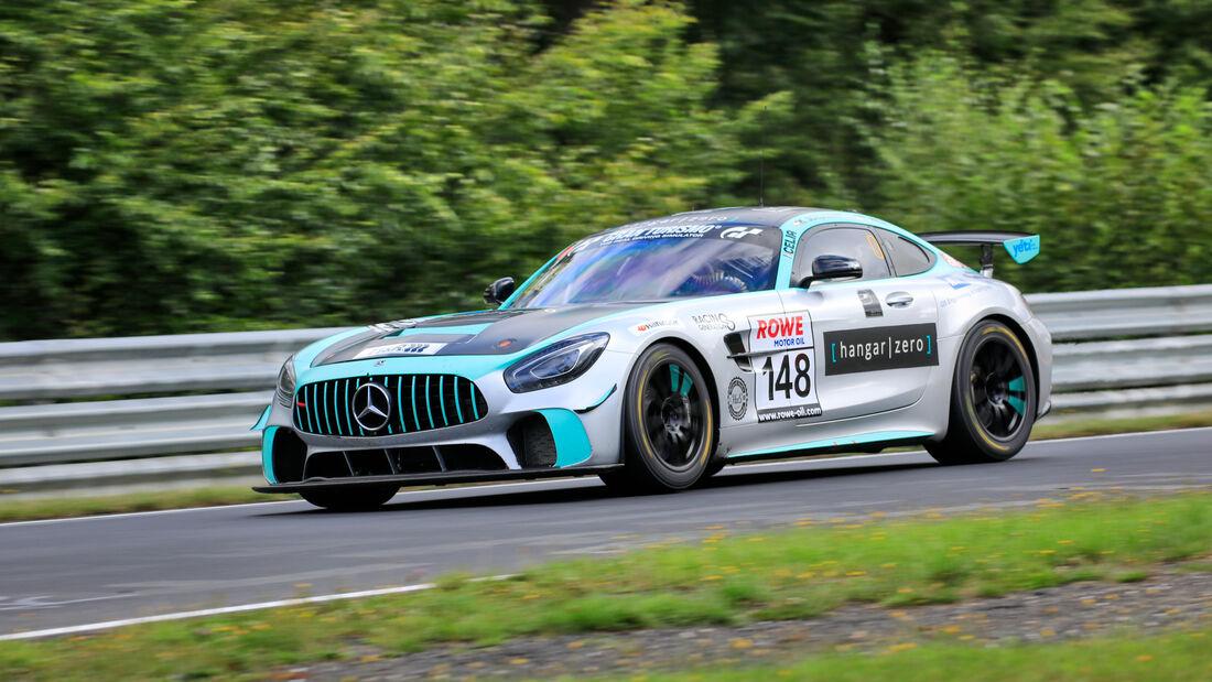 Mercedes-AMG GT4 - Startnummer #148 - Hanger Zero by J.v.O. Autosport - SP8T - NLS 2020 - Langstreckenmeisterschaft - Nürburgring - Nordschleife