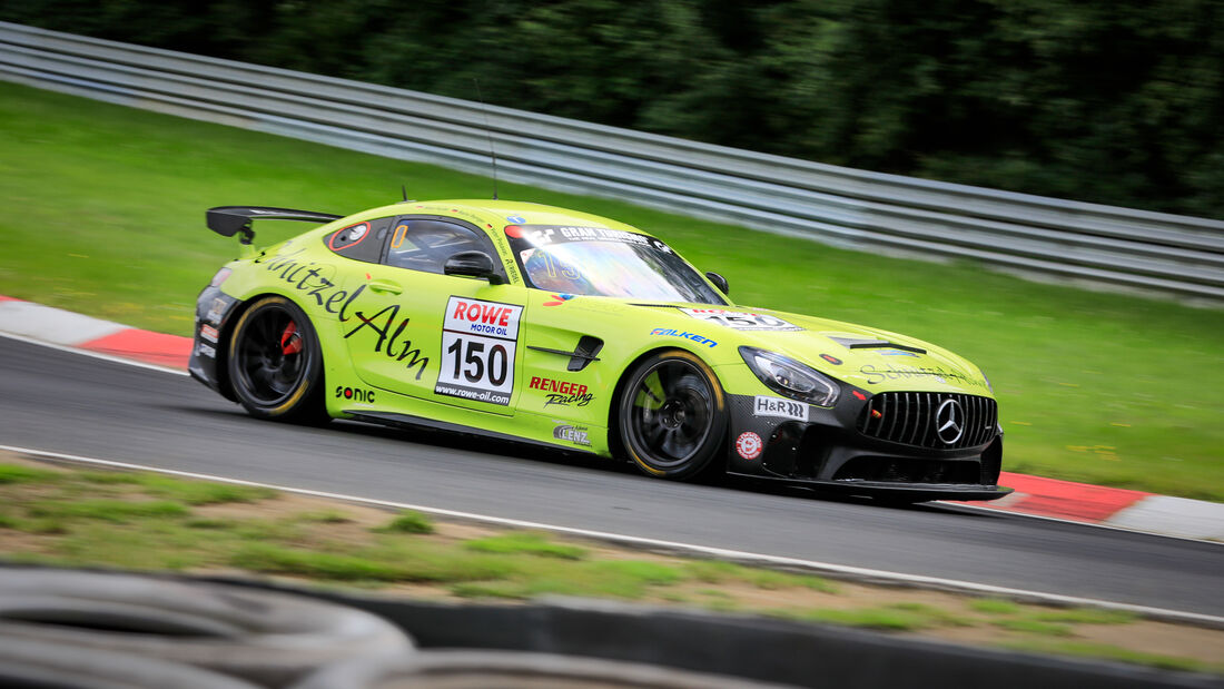 Mercedes-AMG GT4 - Startnummer #150 - Schnitzelalm Racing GmbH - SP4T + SP8T - NLS 2021 - Langstreckenmeisterschaft - Nürburgring - Nordschleife