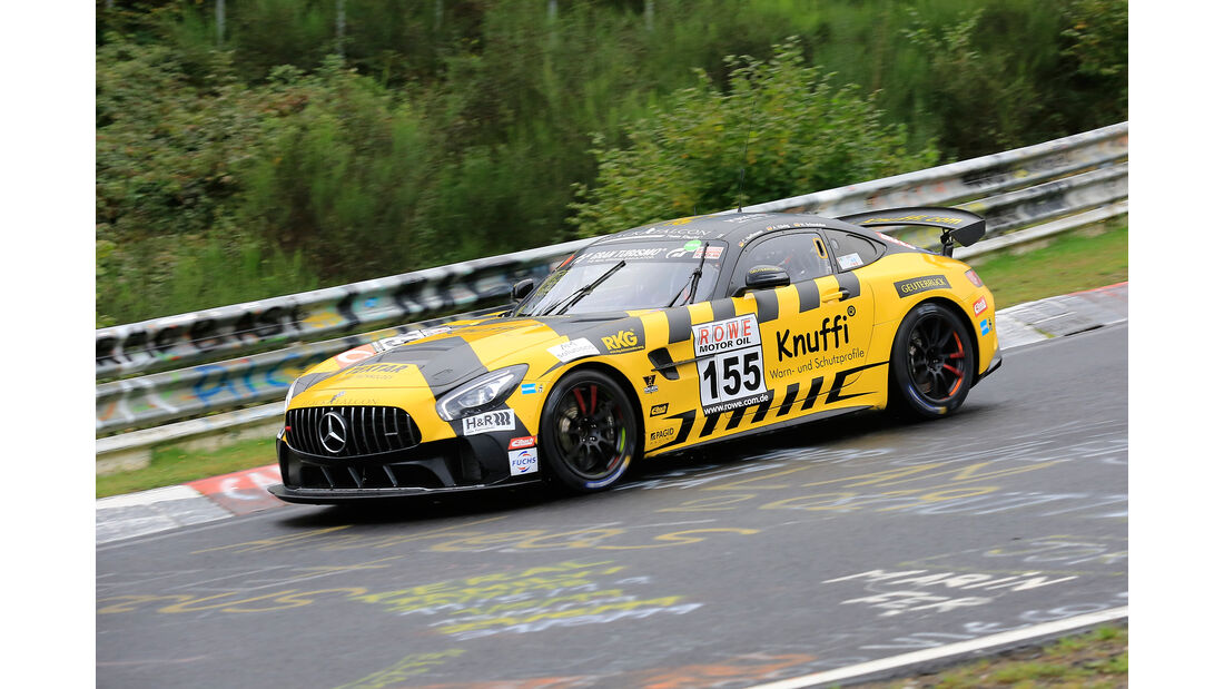 Mercedes-AMG GT4 - Startnummer #155 - Black Falcon Team Knuffi - SP8T - VLN 2019 - Langstreckenmeisterschaft - Nürburgring - Nordschleife