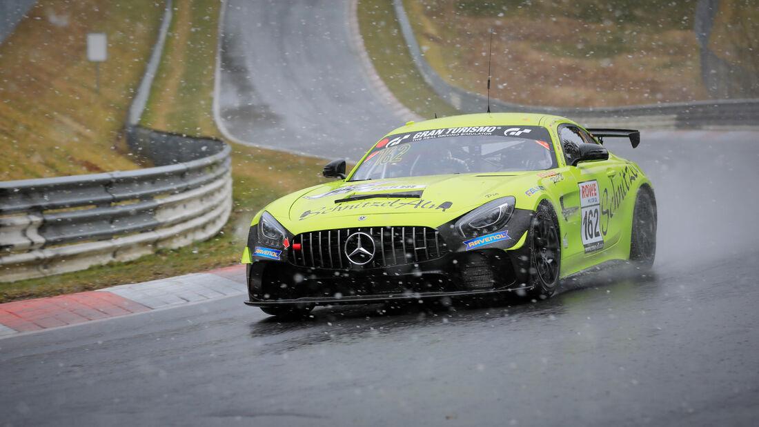 Mercedes-AMG GT4 - Startnummer #162 - Schnitzelalm Racing GmbH - SP10 - NLS 2021 - Langstreckenmeisterschaft - Nürburgring - Nordschleife