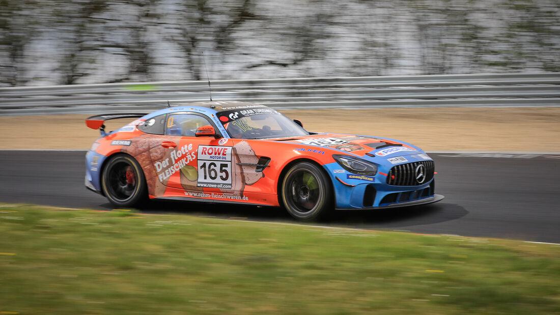Mercedes-AMG GT4 - Startnummer #165 - Schnitzelalm Racing GmbH - SP10 - NLS 2021 - Langstreckenmeisterschaft - Nürburgring - Nordschleife