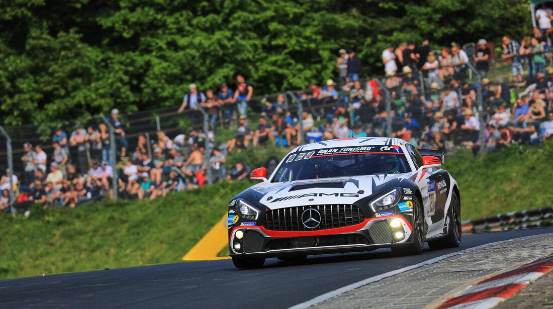 Mercedes-AMG GT4 - Startnummer #190 - 24h-Rennen Nürburgring 2018 - Nordschleife - Samstag 12.5.2018