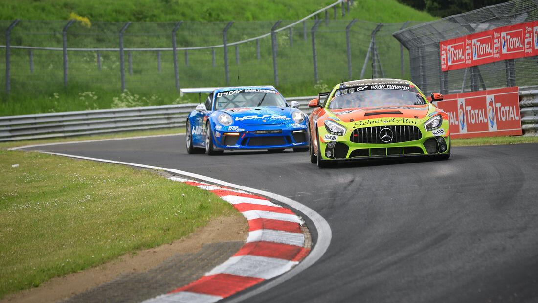 Mercedes-AMG GT4 - Startnummer 34 - 24h Rennen Nürburgring - Nürburgring-Nordschleife - 3. Juni 2021