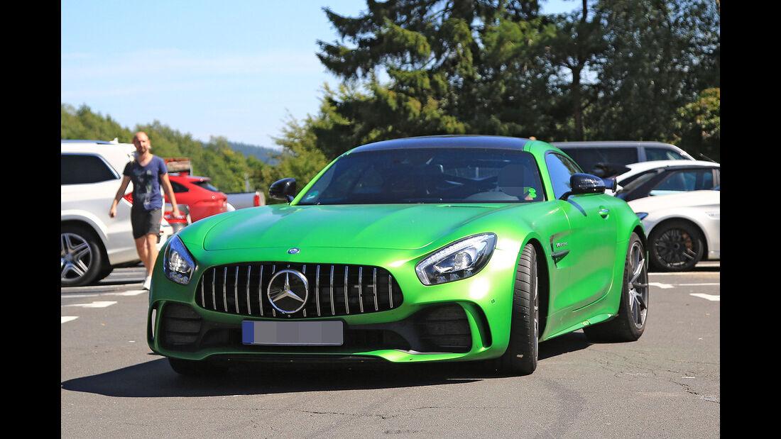 Mercedes AMG GT4 Straßenversion Erlkönig