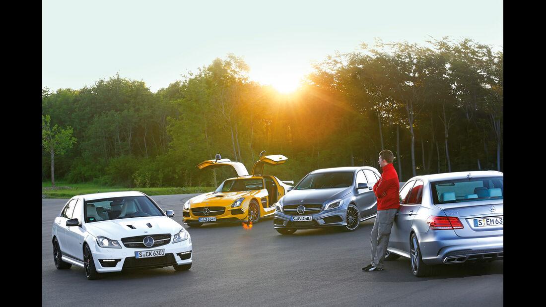 Mercedes AMG-Modelle, Frontansicht