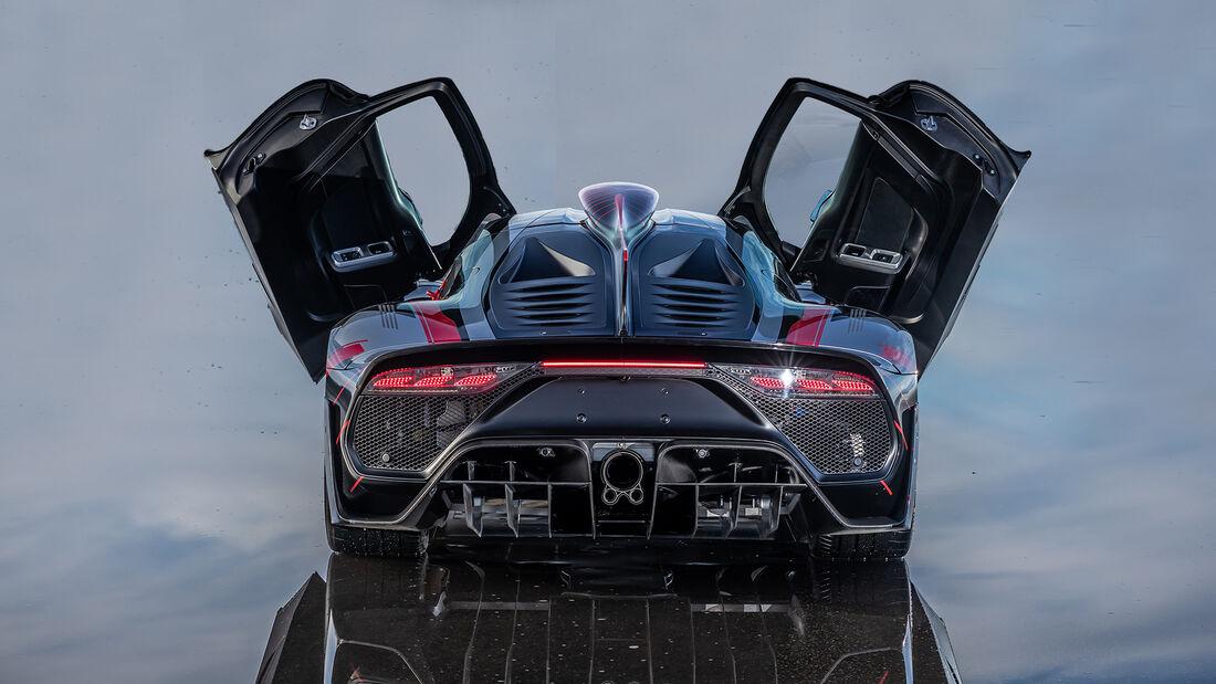Mercedes-AMG One, Exterieur