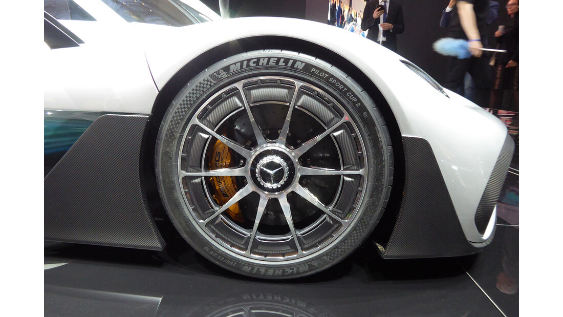 Mercedes AMG Project Once - Felgen - IAA 2017