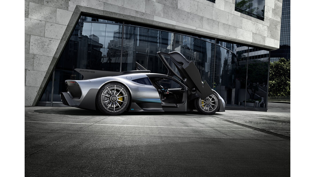 Mercedes AMG Project One, Exterieur