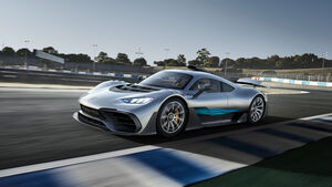 Mercedes-AMG Project One - Hypercar - IAA 2017 - Vorstellung