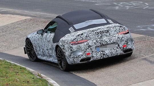 Mercedes AMG SL Erlkönig