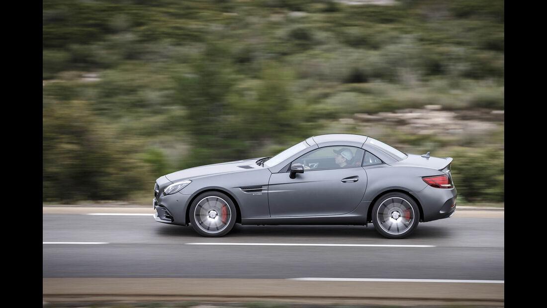 Mercedes-AMG SLC 43, Fahrbericht, 04/2016