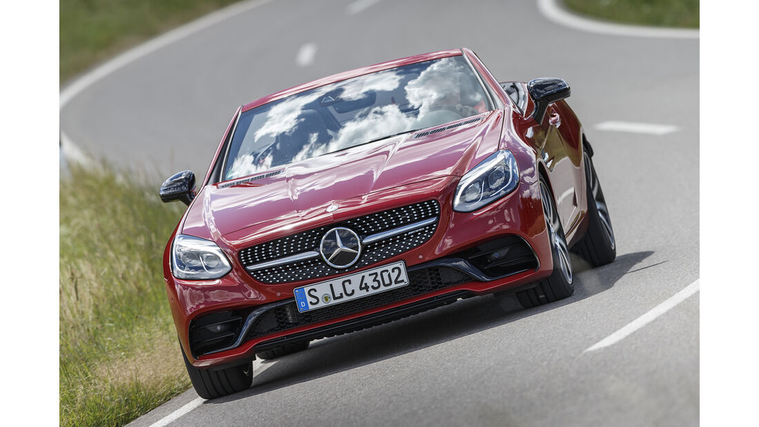 Mercedes-AMG SLC 43 Front