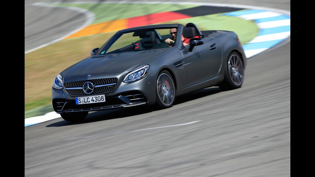 Mercedes-AMG SLC 43, Frontansicht