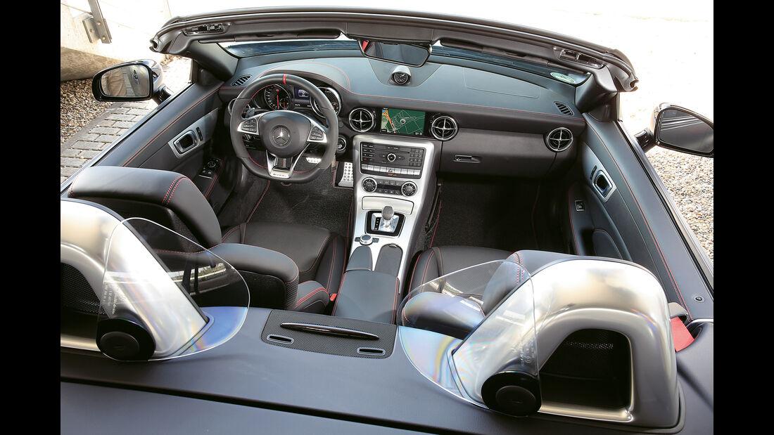 Mercedes-AMG SLC 43, Innenraum