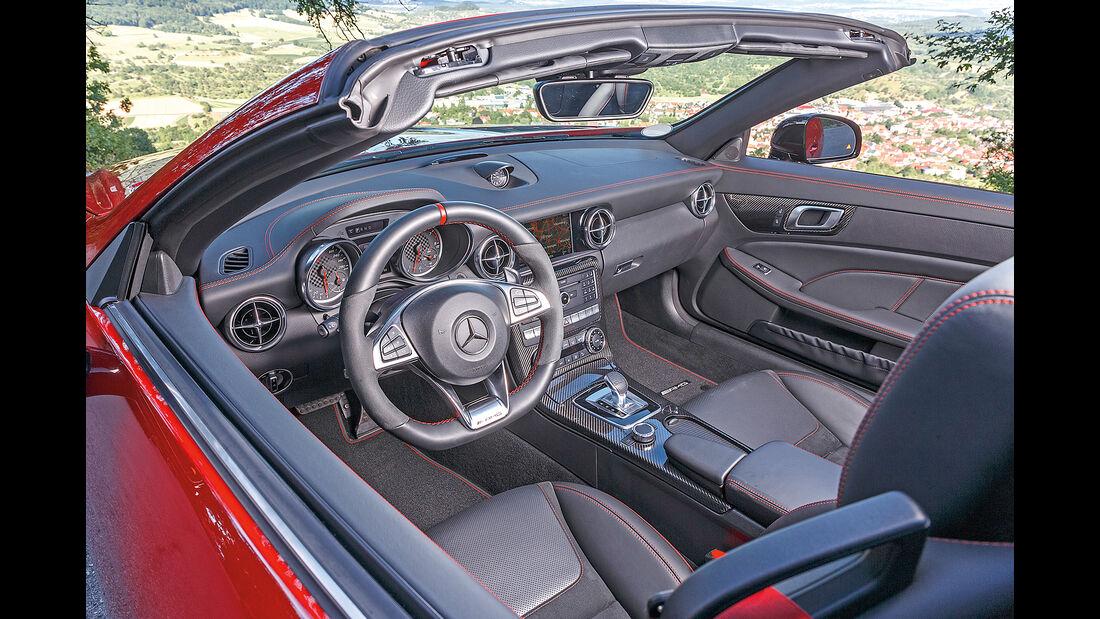 Mercedes-AMG SLC 43 Interieur