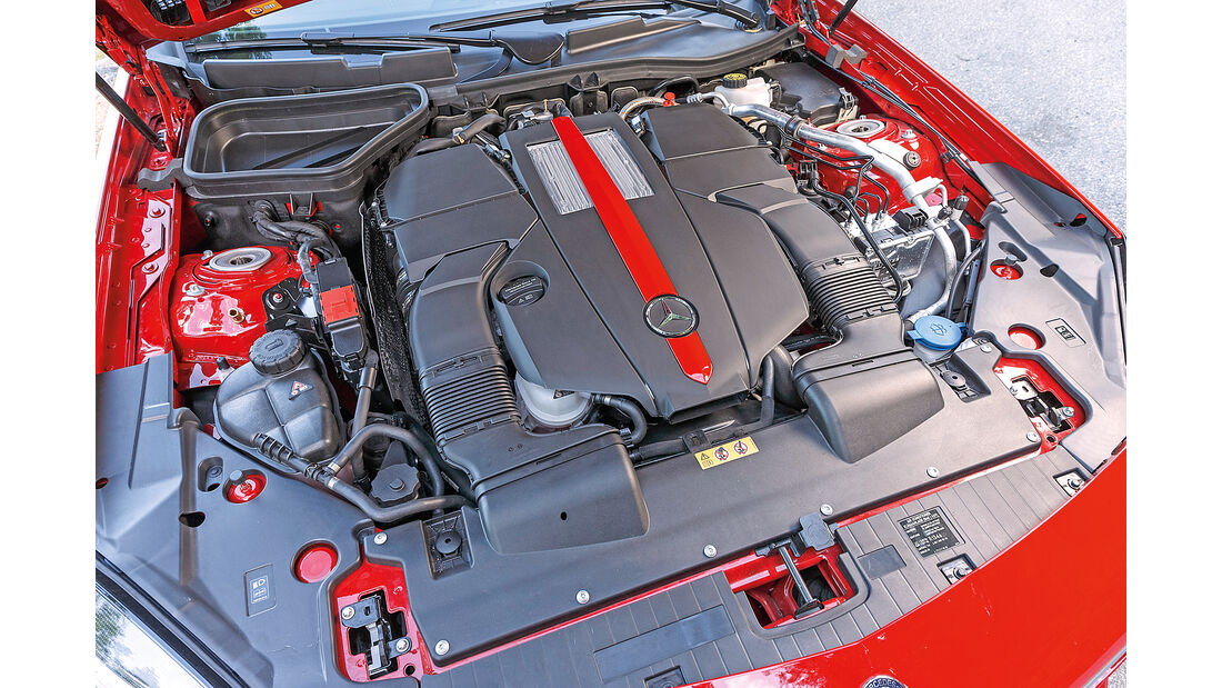 Mercedes-AMG SLC 43 Motor